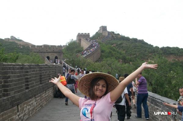 Алина даже спустя годы может поддержать разговор на китайском