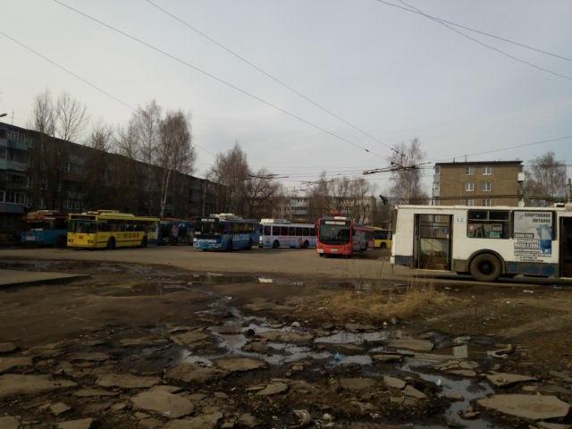 Троллейбусы в Рыбинске - самый популярный городской транспорт