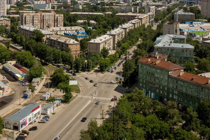 Перекрёсток улиц Котовского и Ватутина