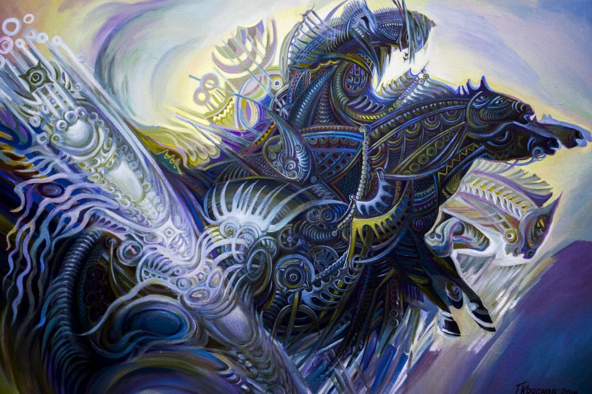 Картину абаканского художника Григория Краснова можно посмотреть в краеведческом музее