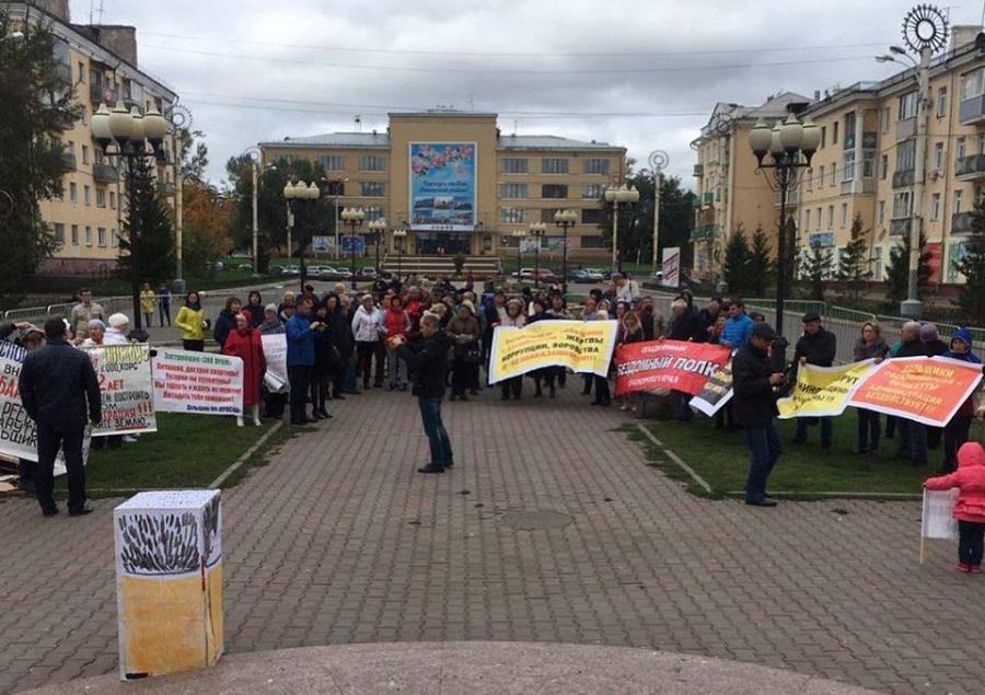 Правила проведения митингов вКрасноярске стали неменее жесткими