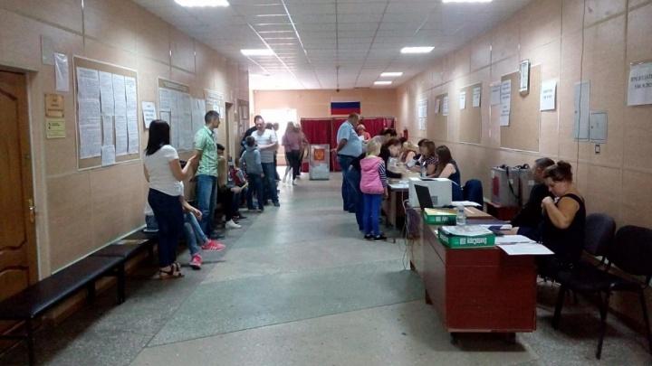 Явка на выборы в Заксобрание Ростовской области превысила 45%