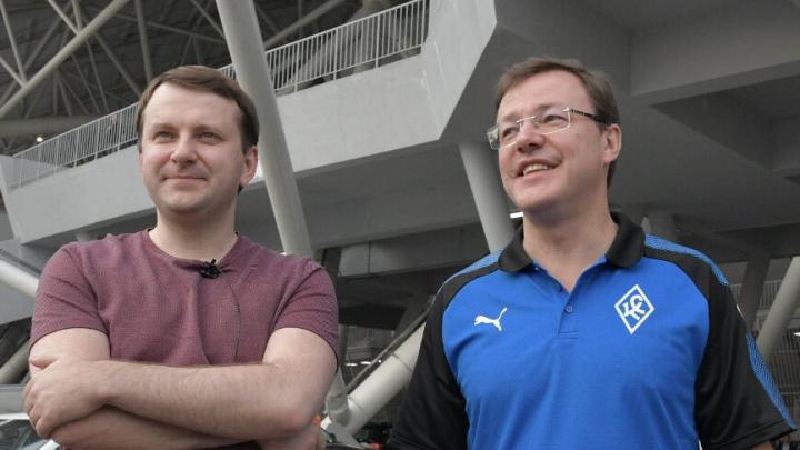 Азаров дал главе Минэкономразвития РФ покататься на своейLada Vesta Sport