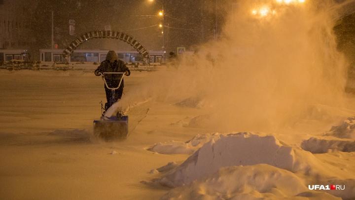 Метель и сильный снегопад: какие сюрпризы преподнесет погода жителям Башкирии в грядущую пятницу