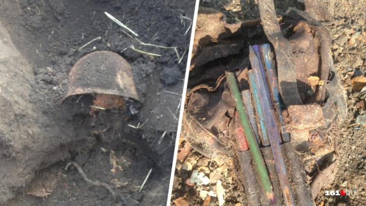 Поисковики обнаружили останки офицеров Великой Отечественной войны