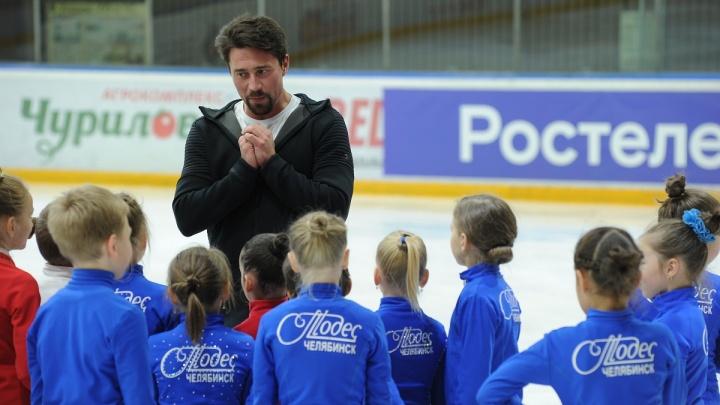 «Звёздная дорожка» в Челябинске: известный тренер по фигурному катанию провёл мастер-класс для детей