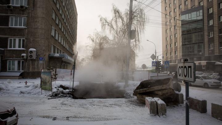 Ищите объезд: один из проездов от Советской до Красного проспекта раскопали до конца месяца