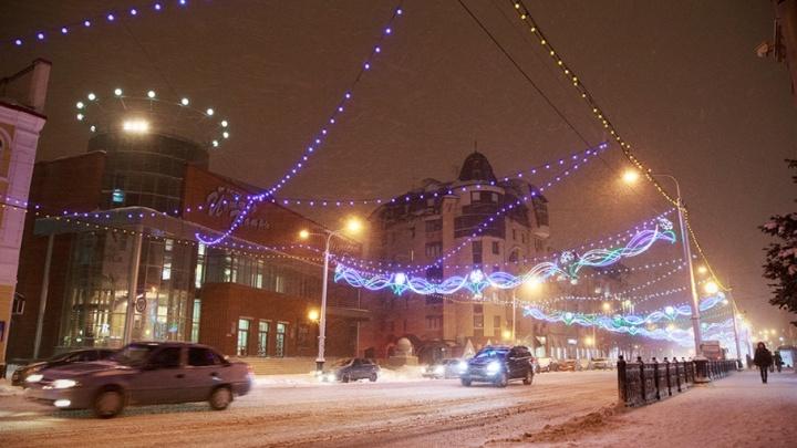 Главный новогодний салют в Уфе отгремит на площади имени Ленина