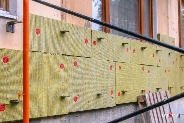 Утепление фасадов не относится к основным расходам Фонда капремонта