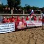 Финишировали на набережной: омские «моржи» добежали до Самары