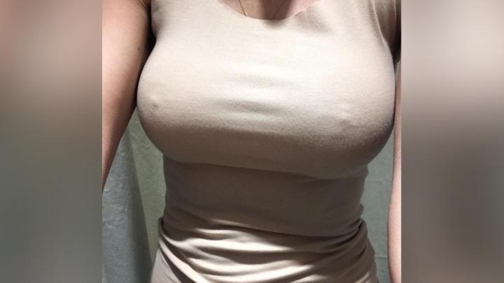 Жительница Красноярска попросила мужчину испытать упругость вставной груди и выложила честное видео