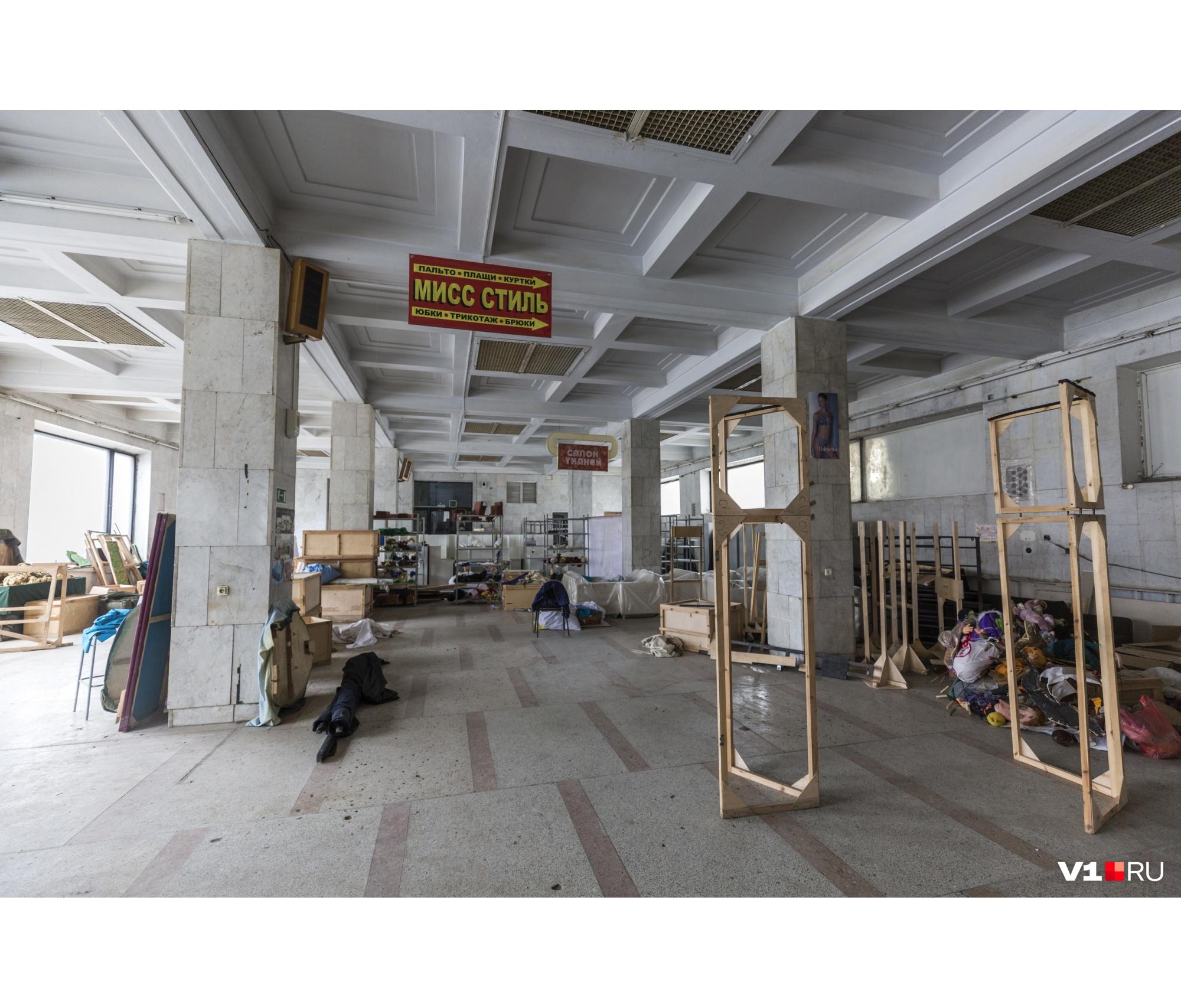 Здесь планируют поставить витрины краеведческого музея