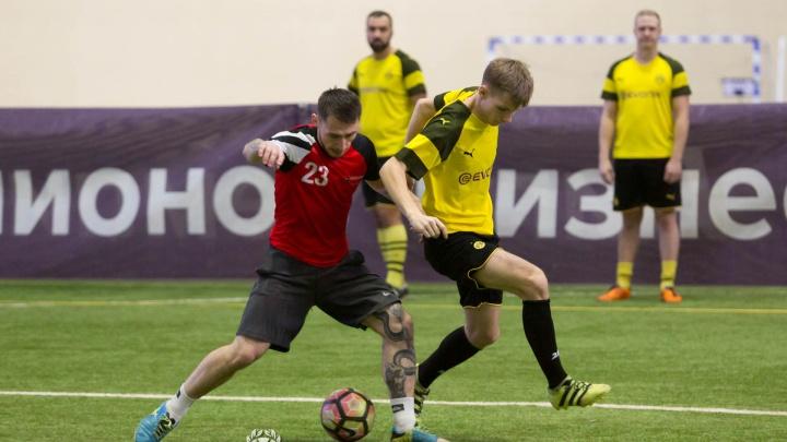 «Чемпионы, вперёд»: в Красноярске прошли игры 9-го тура «Лиги Чемпионов Бизнеса»