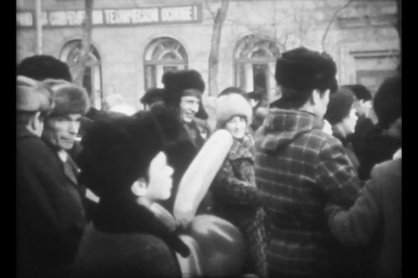 Первомайская демонстрация 1982 года