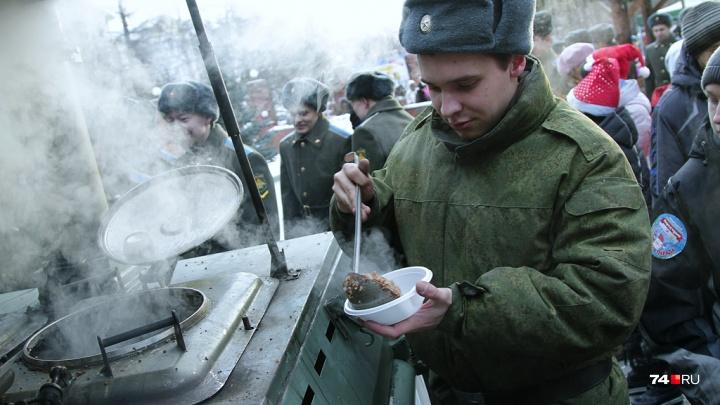 На День Победы челябинцам раздадут шесть тысяч порций солдатской каши