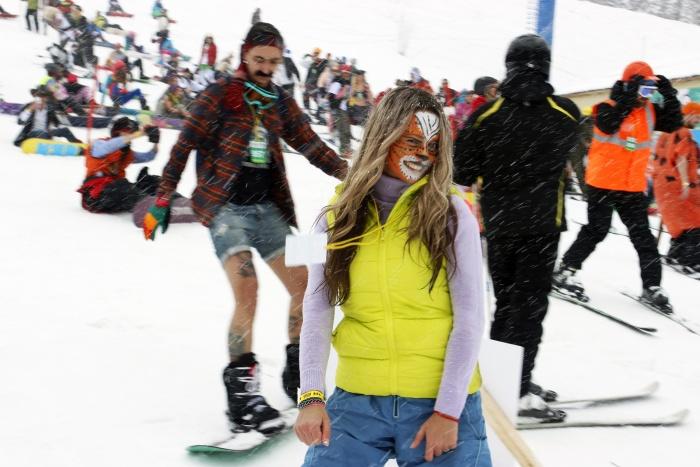 Шерегеш стал самым посещаемым зимним курортом России