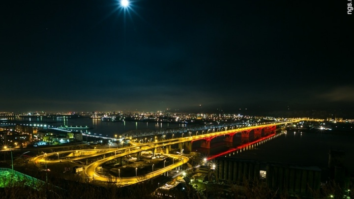 Представлен план дорог Красноярска с пятым мостом и трамваями на левобережье
