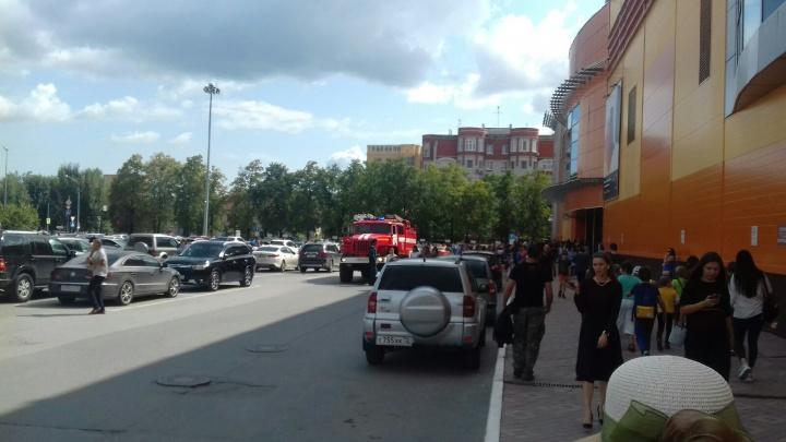 Из-за задымления из ТРЦ «Гудвин» эвакуировали всех сотрудников и посетителей