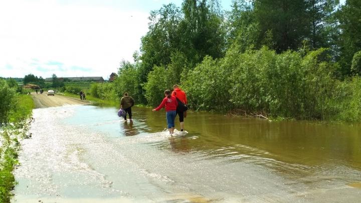Готовы ввести режим повышенной готовности: в Кудымкарском районе начался паводок