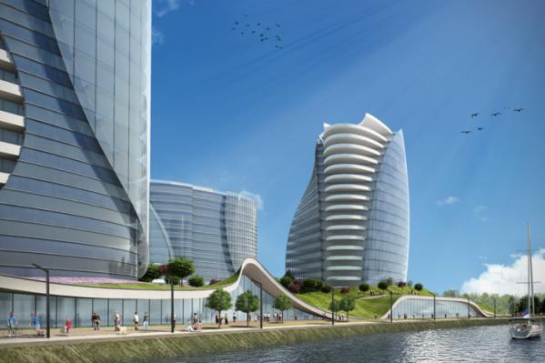 Проект был опубликован на сайте компании, которая ранее разрабатывала концепт-дизайн тюменского аквапарка «ЛетоЛето»