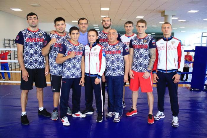 8 спортсменов будут защищать честь России
