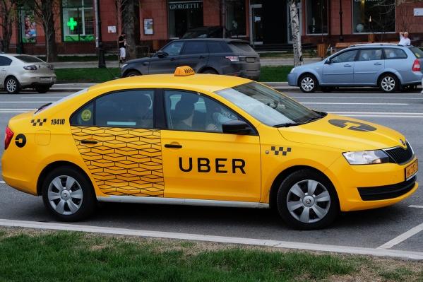 Uber работает в Новосибирске с октября 2015 года