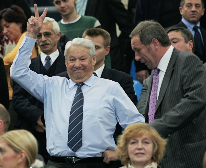 В жизнерадостности Ельцину было не отказать