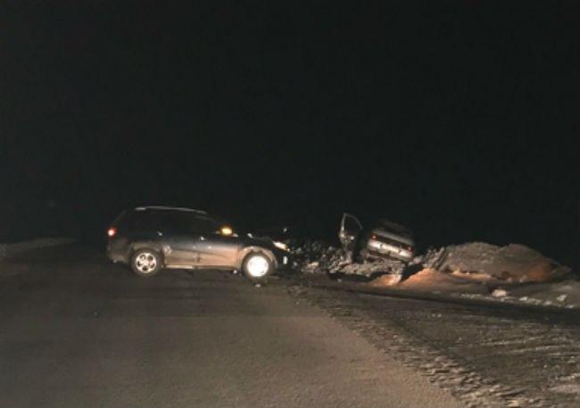 Авария произошла на перекрестке под Шараном