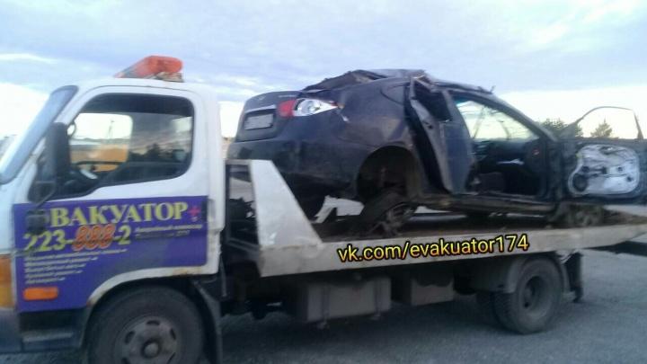 Легковушка слетела с трассы под Челябинском: погибла девушка, двое раненых — в больнице