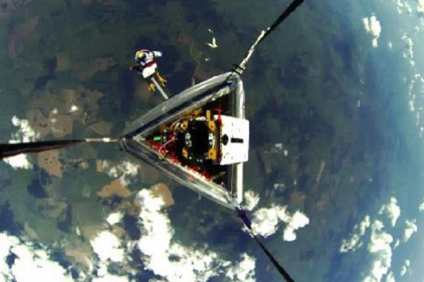 Самораскрывающиеся оболочки сами затвердевают в космосе