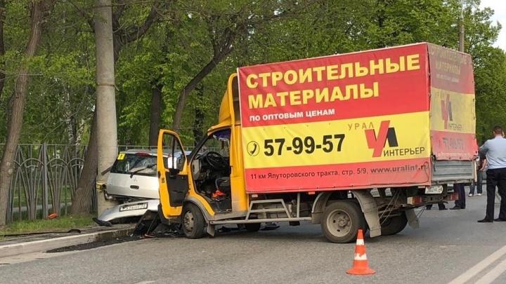 Смертельное ДТП у Комсомольского сквера попало на камеру