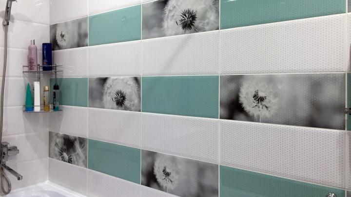 «Одуванчиковая» ванная: нежный дизайн с мягкими оттенками