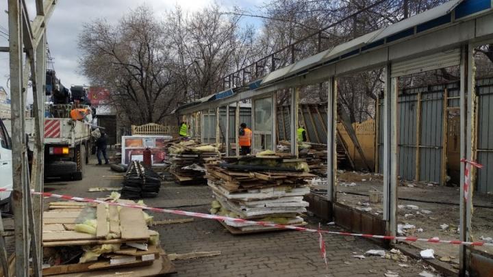 Странности благоустройства. В Красноярске сносят павильоны. Вы не поверите, что появилось взамен