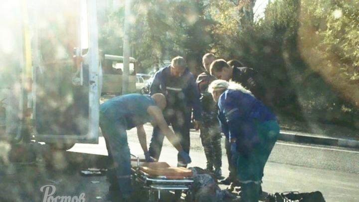 Недоброе утро: рядом с площадью Народного Ополчения маршрутка сбила человека