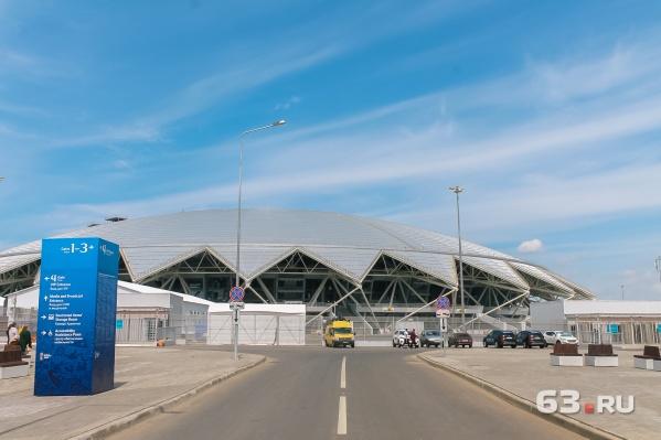 Новый стадион открыли в Самаре специально к ЧМ-2018