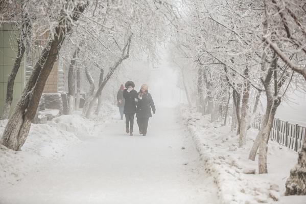 Похолодание синоптики ждут в центральных районах Красноярского края
