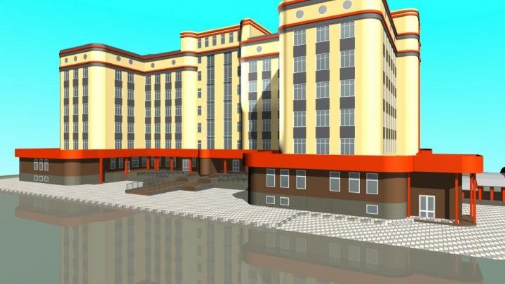 В апреле начнут строить семиэтажную поликлинику в «Ямальском-2». Рассказываем, какой она будет