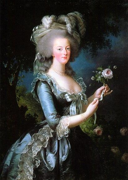 Портрет королевы Марии-Антуанетты