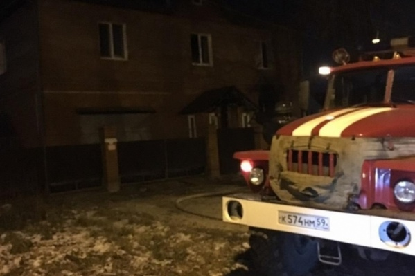 Пожарные приехали на место происшествия в течение нескольких минут