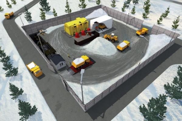 На новом объекте будут перерабатывать около 400 тонн осадков в год