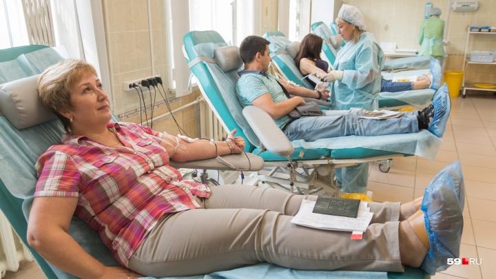 После ДТП с автобусом на станцию переливания крови пришли сотни пермяков