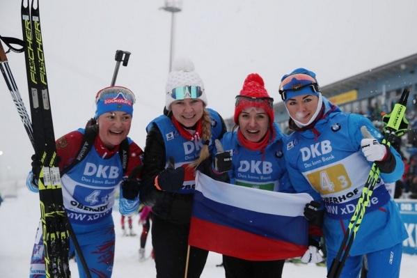 Российская команда, взявшая золото в Германии