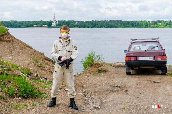 История пермского Чистомэна Сергея Сюзева началась почти 30 лет назад, но город узнал о своем герое совсем недавно
