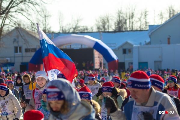 В 2018 году на «Лыжне России» в Самаре зафиксировали рекордное количество участников