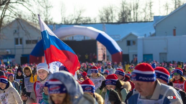 Массовый забег на 2019 метров: жителей Самары приглашают на «Лыжню России» 9 февраля