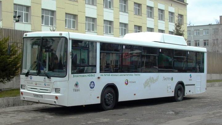 В следующем году в Омске появится электробус