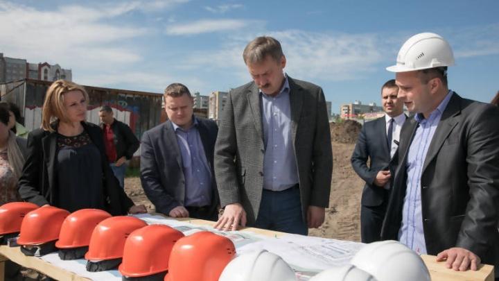 В Майской Горке в ближайшие три года откроются школа, детсад и спортивный центр