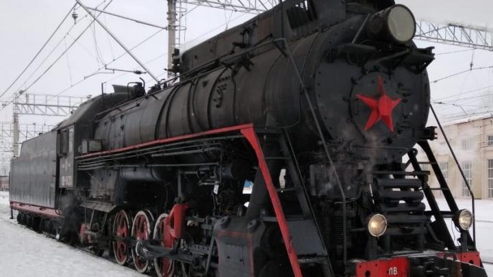 В Перми открылся новый экскурсионный маршрут на ретропаровозе