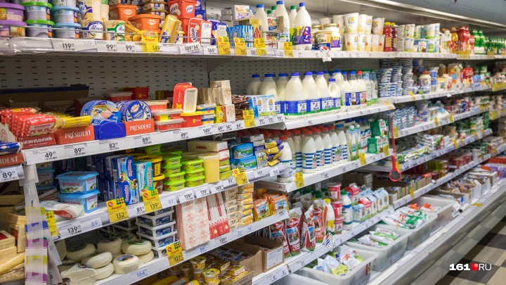 В Ростовской области подорожали крупы и молочная продукция