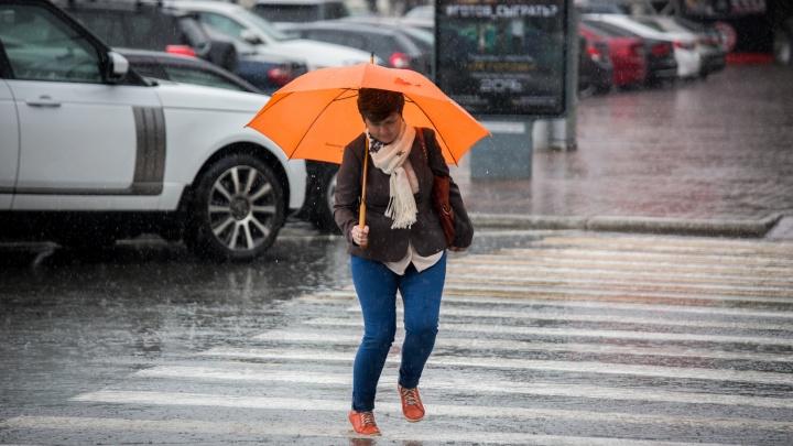После 27-градусной жары в Новосибирск придут дожди с грозой